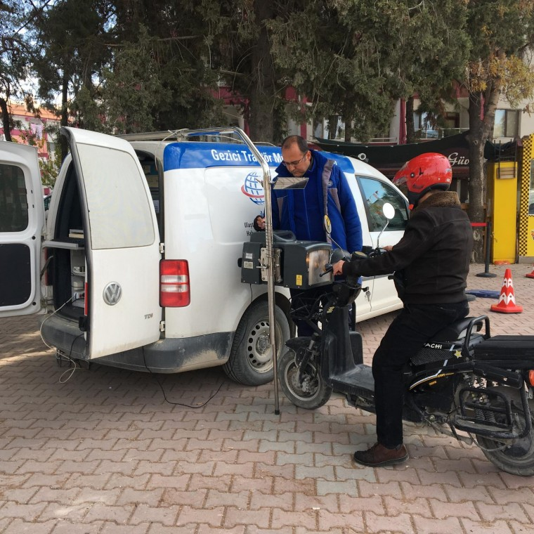We Provided Contribution to Traffic Security in Burdur
