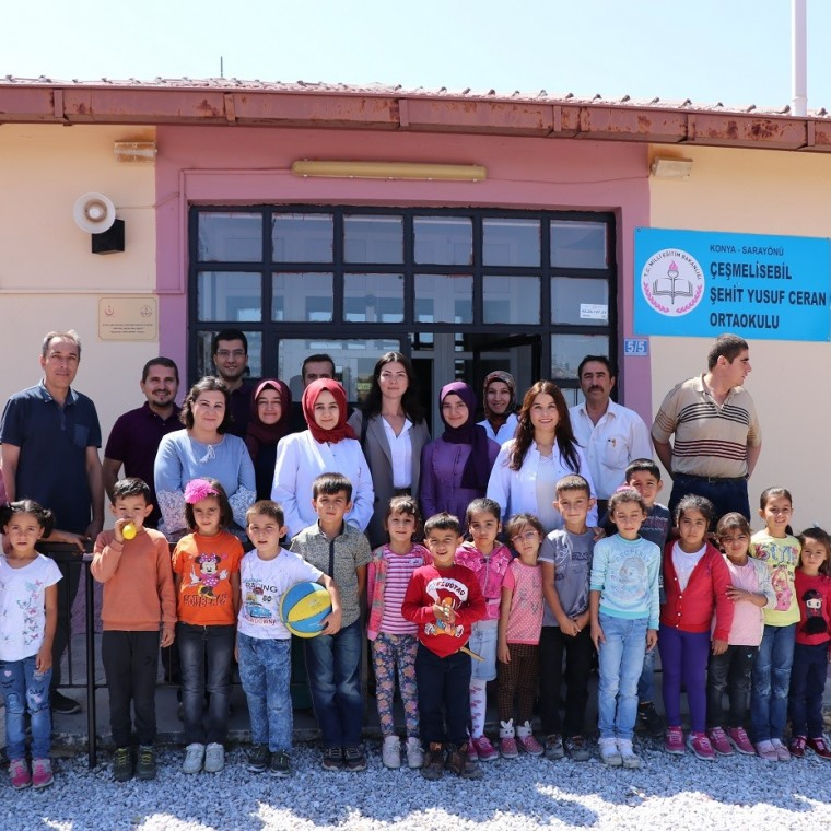 "Koyuncu Group Supported 500 Students with the ""Our Children are Our Future"" Project"