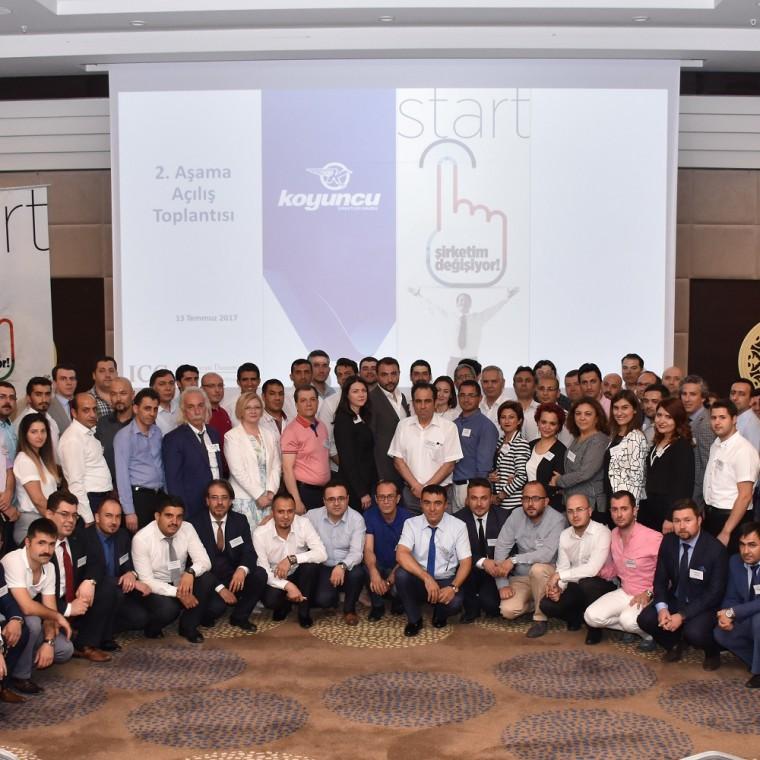 Koyuncu Grup 'Şirketim Değişiyor Projesi'ni Başlattı